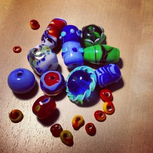 lampworked beads 1