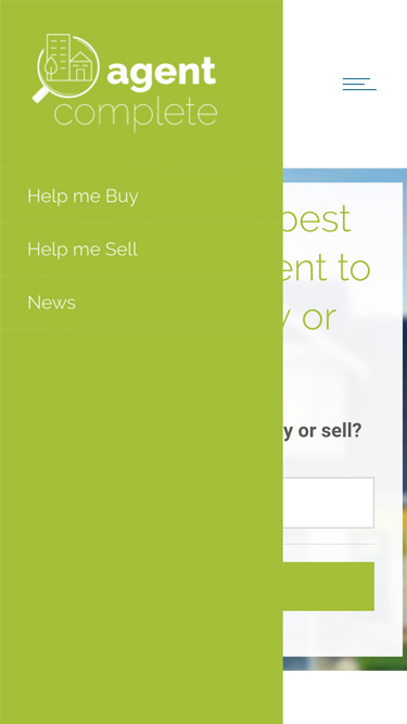 Agent Complete website design, graphic design, web development, wordpress, responsive
