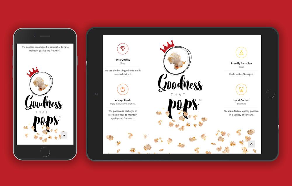 Queen B website design, graphic design, web development, wordpress, responsive