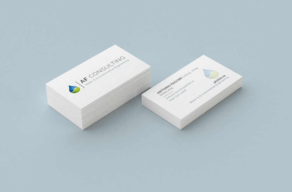 AF Consulting Business cards