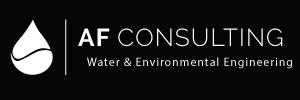 AF Consulting Logo design black
