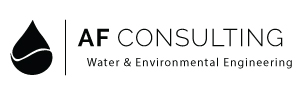 AF Consulting logo design