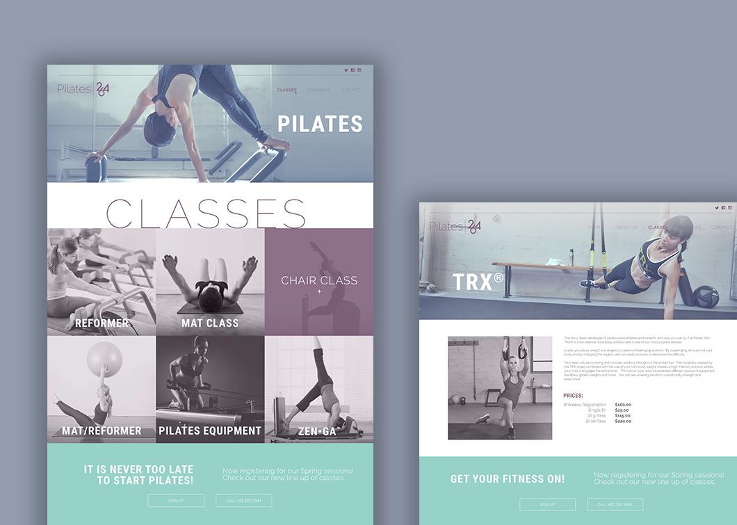 Core 360 website design, graphic design