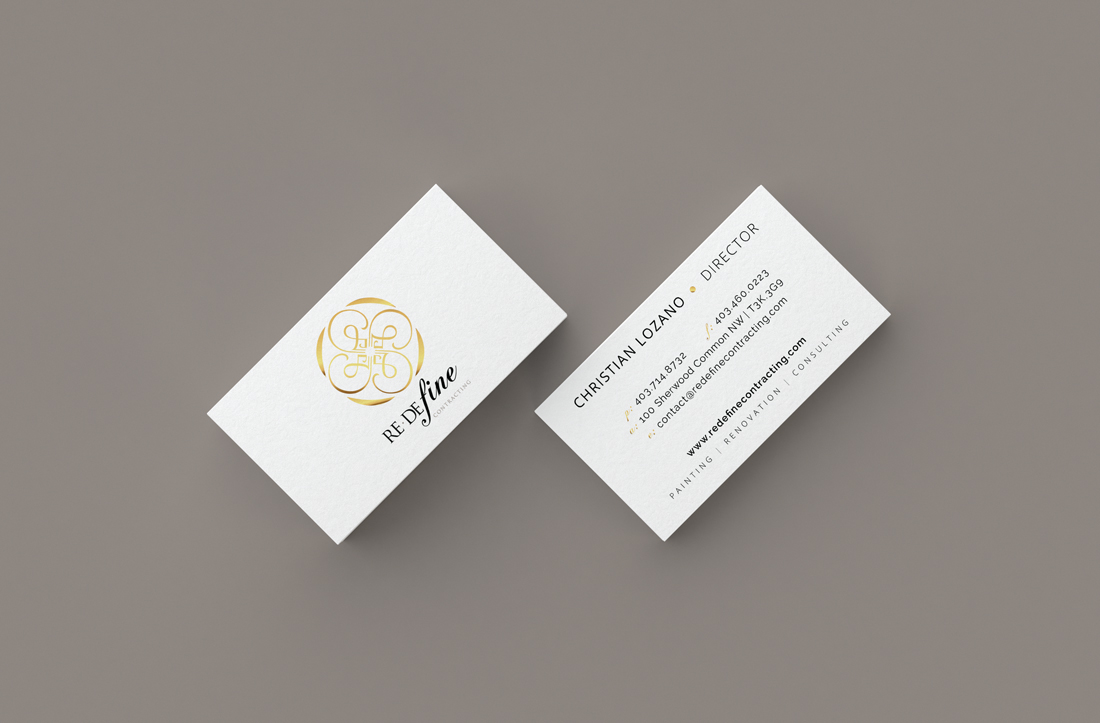 Redefine Business Cards